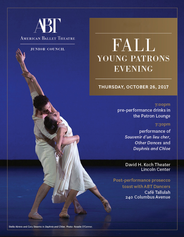 ABT Fall Young Patrons Evening - ABT: Membership