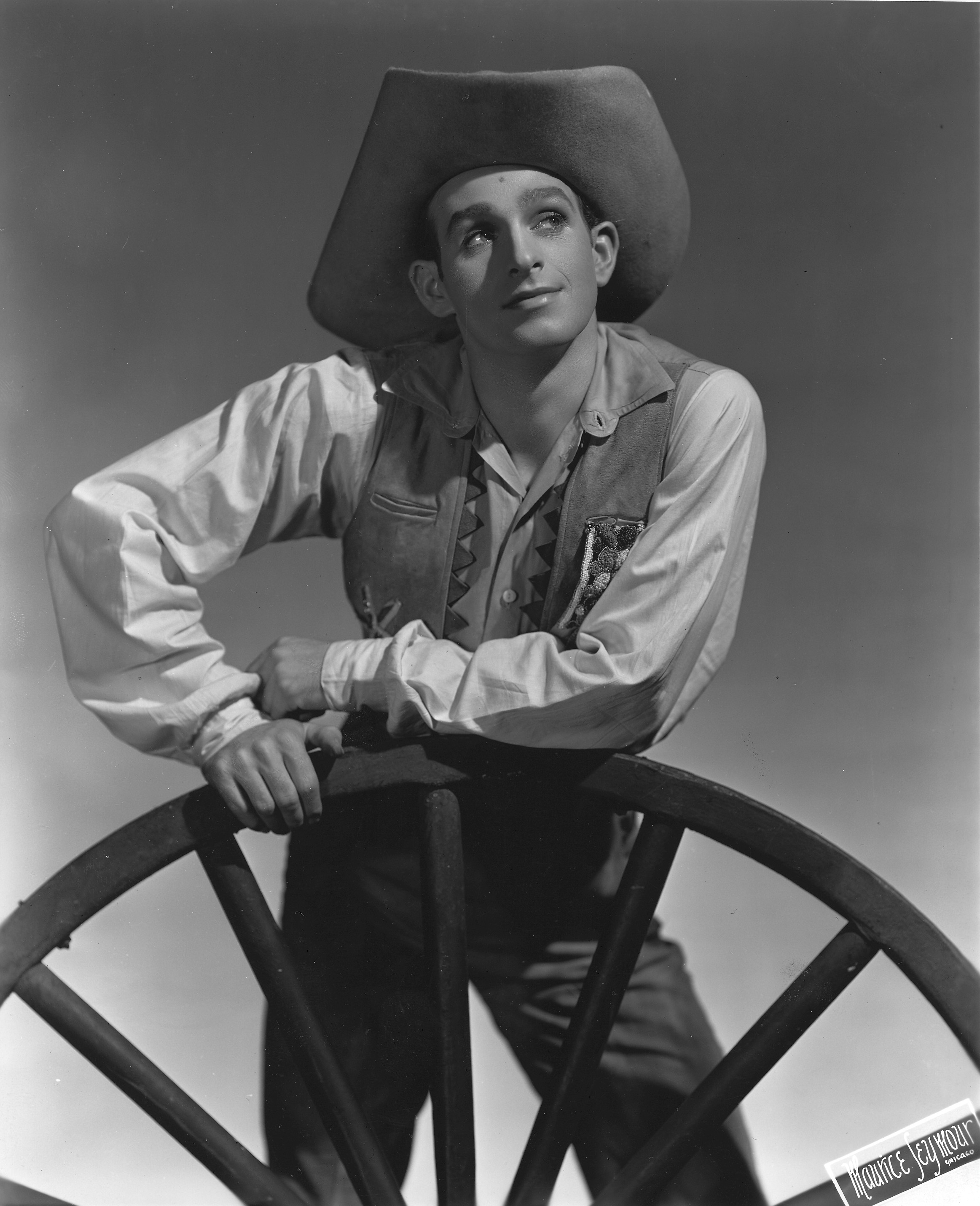 Freddie Franklin in Rodeo. Photo: Maurice Seymour.