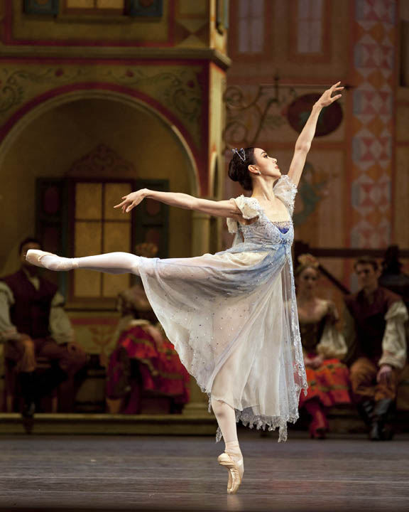 Hee Seo as Prayer in Coppélia. Photo: Rosalie O'Connor.