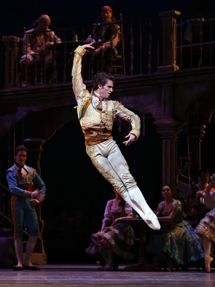 James Whiteside in Don Quixote. Photo: Marty Sohl.