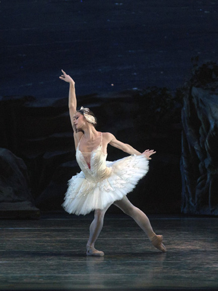 Polina Semionova in Swan Lake. Photo: Rosalie O'Connor.