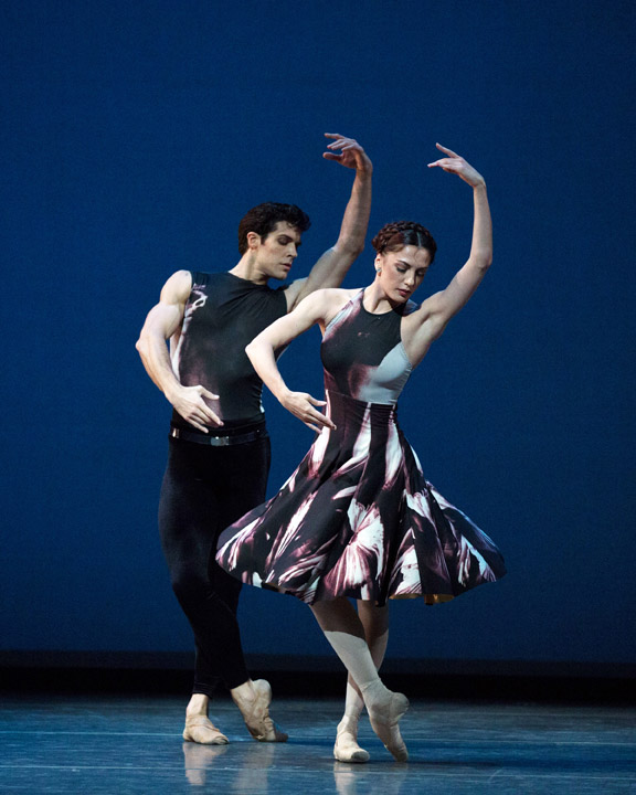 Veronika Part and Roberto Bolle in Symphony #9.\nPhoto: Rosalie O'Connor.